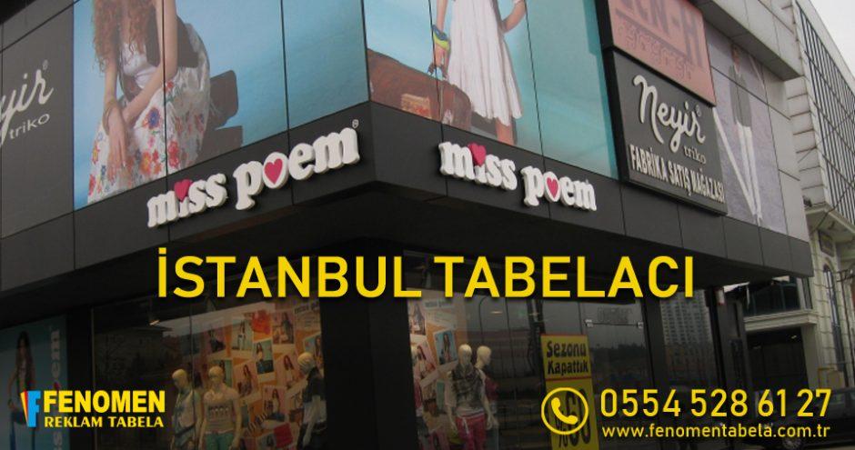 İstanbul Tabelacı, Tabela Firması - Fenomen Reklam Tabela